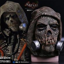 Batman Mask Suicide Squad Scarecrows Masks Dr. Jonathan Crane Mask Blocks DC Batman Superhero Mask Halloween Party Prop