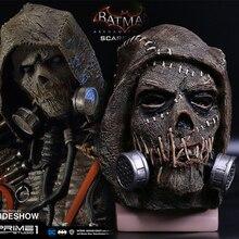 Batman maskesi İntihar kadro korkulukları maskeleri Dr. Jonathan vinç maskesi blokları DC Batman süper kahraman maske cadılar bayramı partisi Prop