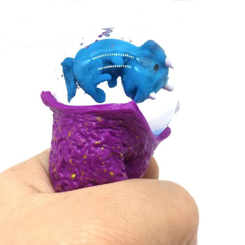Динозавр игрушечный динозавр Release мяч игрушечное яйцо динозавра многоцветный расслабиться апреля Дурака день вечерние реалистичные DIY Дети