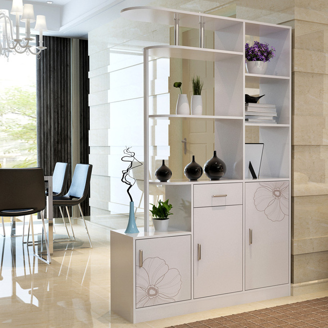 Man Patriarch Entrance Hall Cabinet Shoe Cabinet Wine Cabinet Partition  Sideboard Modern Living Room Corner Cabinet
