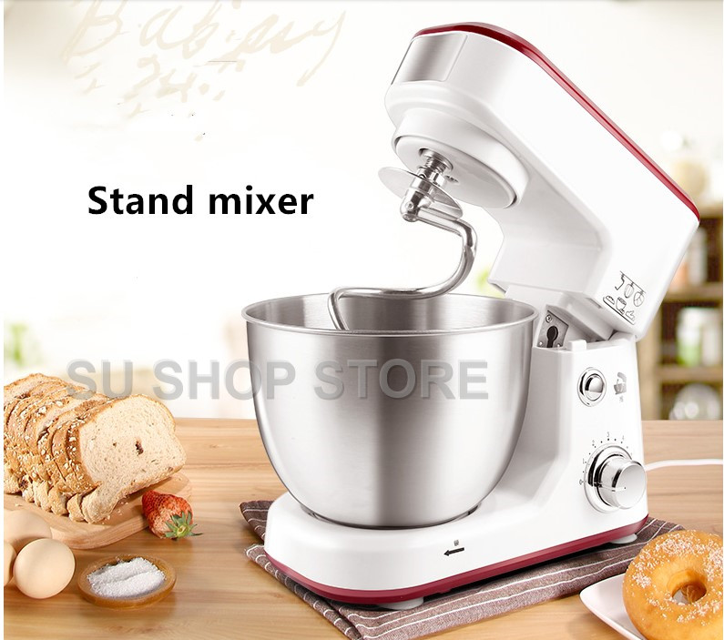Électrique ménage Stand Mélangeurs gâteau pâte pain mélangeur machine 600 w mixeur
