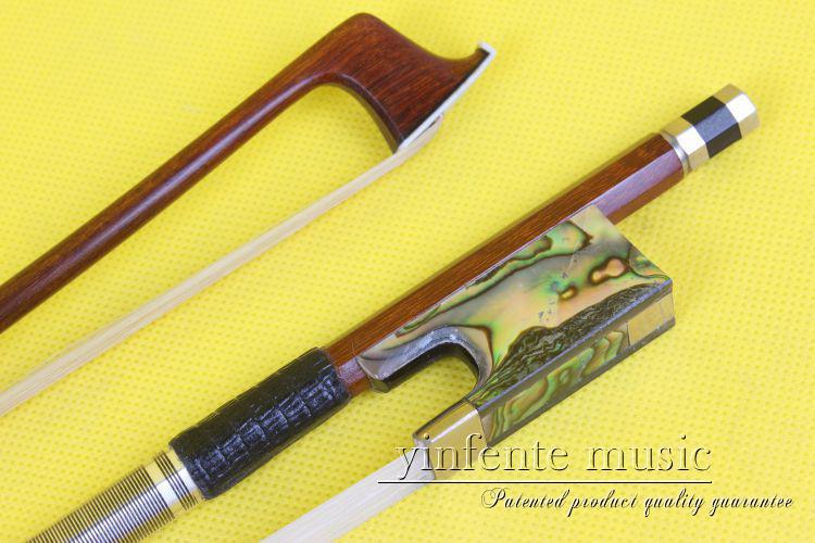 1 pçs violino arco 4/4 concha reta de alta qualidade # r9