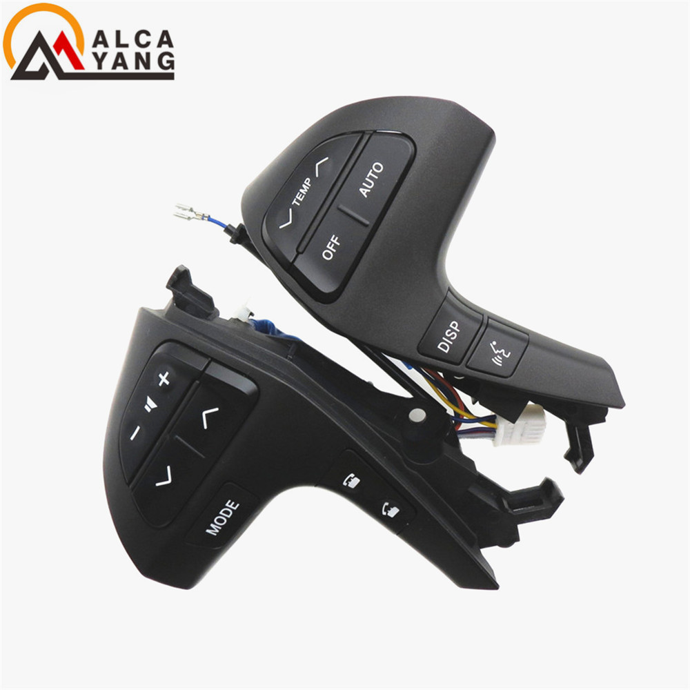 Buttons Bluetooth Phone For Toyota HIGHLANDER 84250-0E120 Steering Wheel Audio Control Button 84250-0E220 84250-0K020