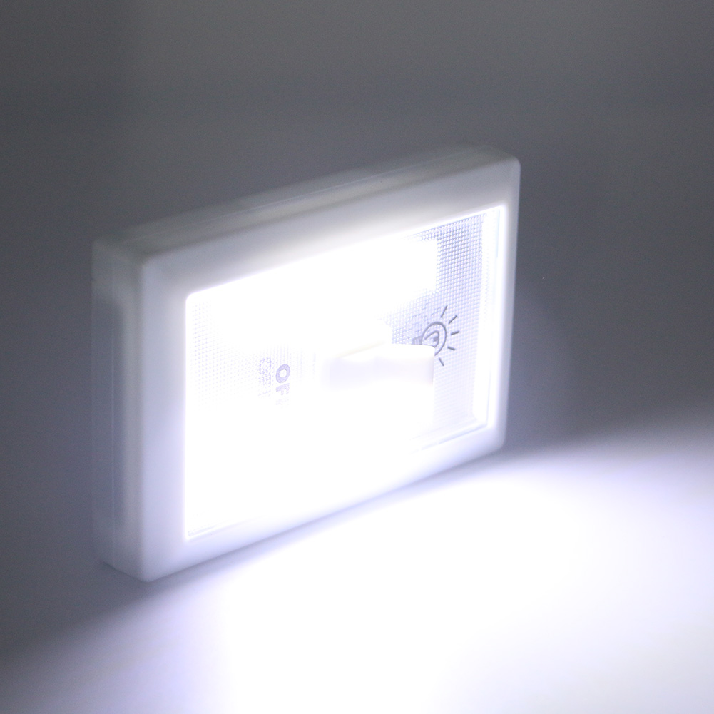 Led Garage Lights Battery: Magnetic COB LED Cordless Light Switch Wall Lamp AAA