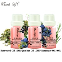 10ml 3pcs Anti Bacteria SET 100 Pure Plant Essential Oil Moisturizing Rosewood Juniper Rosemary Wrinkle Delay