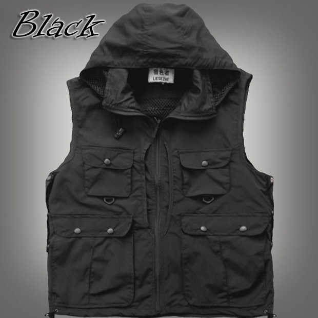 Wholesale mens womens outdoor photo vest jacket sleeveless,multi ...