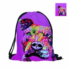 Cute Pitbull Bag for Men and Women School To Travel