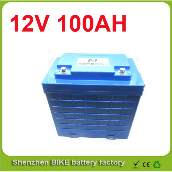 Free shipping 12v 100ah deep cycle UPS li-ion lifepo4 battery pack for solar system  12V Lifepo4 Electric Bicycle Battery free shipping 4 8v battery pack 4500mah sc receiver battery pack 10c high rate battery pack