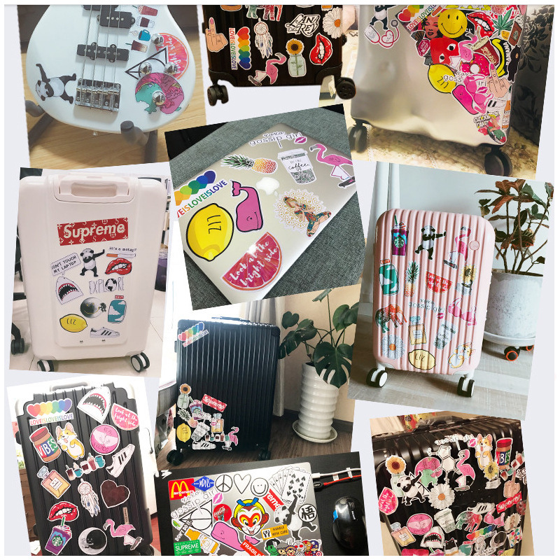 Image 5 - 100PCS Many Styles Waterproof Car Stickers Graffiti JDM Car Modification Sticker for Motorcycle Bicycle Helmet Suitcase Laptop-in Car Stickers from Automobiles & Motorcycles
