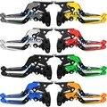Для Yamaha FZ6 FAZER/S2 2004-2010 Складные Выдвижные Тормозные Рычаги Сцепления Мотоцикл Тормоза и Расширения Горячие продажа ЧПУ 2009