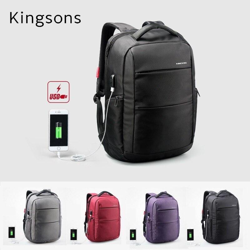 2018 Newest Kingsons Brand Backpack For Laptop 15