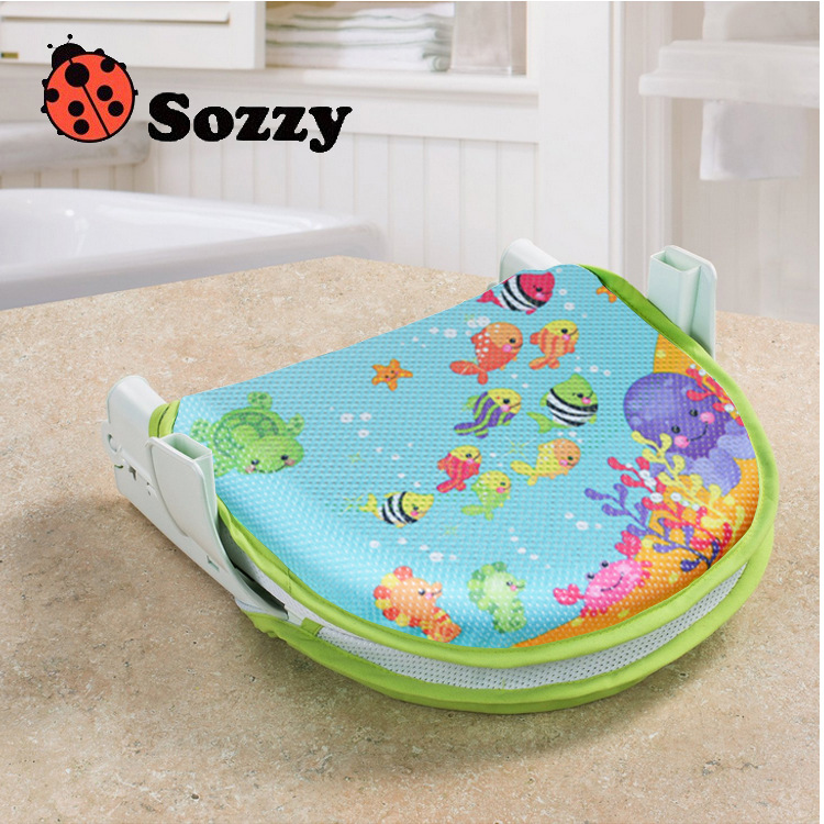 hot sale 24.5cm SOZZY Infant Baby Bath Bed Soft comfortable Bathtub ...