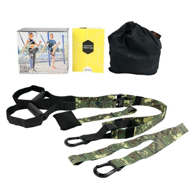 Resistance Bands Sports Fitness Equipment Strength Belt Exerciser Suspension Trainer