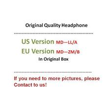 цена на 50Pcs/Lot Original Quality 3.5mm Headphone in Ear Headphones Earphone With Remote Mic for i 5 5s 6 6S plus,with retail Box