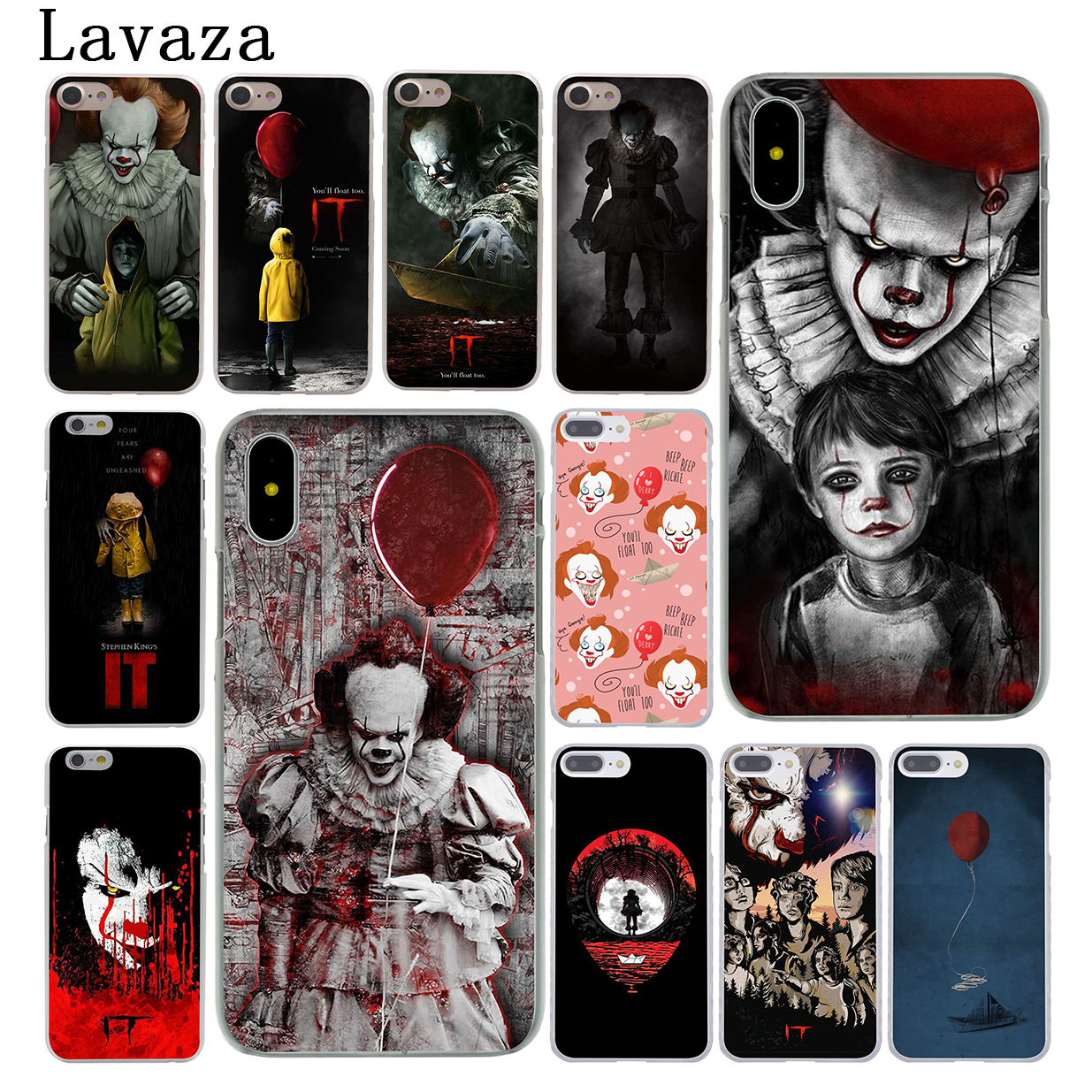 Lavaza Stephen Kings It Hard Phone Case for Apple iPhone X 10 7 6 6s 8 Plus 4 4S 5 5S SE 5C Coque Shell Cover