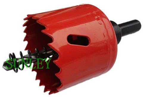 цена на 50MM M42 Bi-Metal Hole Saw Red