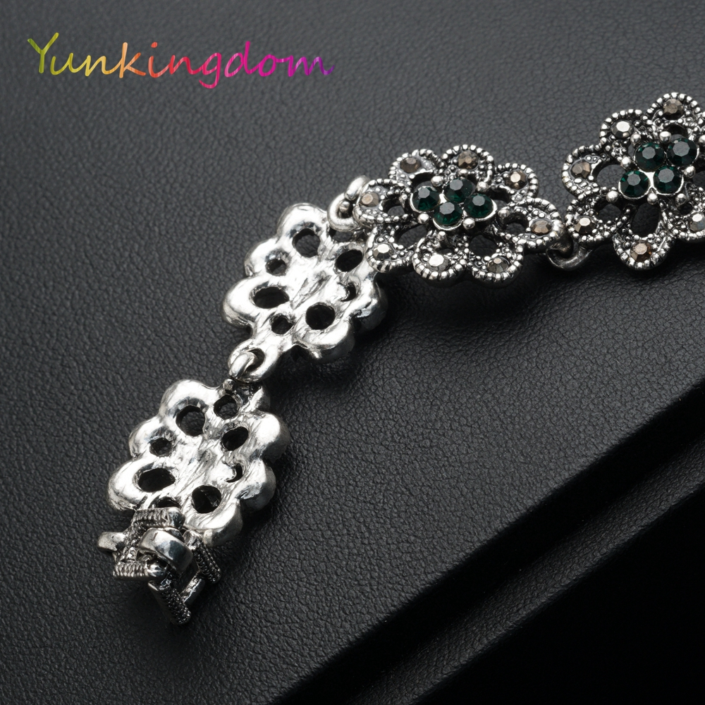 Vintage Fashion Bangle Armbanden Gouden Kleur Armband Dames - Mode-sieraden - Foto 4