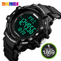 3D Pedometer Heart Rate Watch For Men Monitor Calories Counter Wristwatch Fitness Tracker Digital LED Sports Watch SKMEI 1180