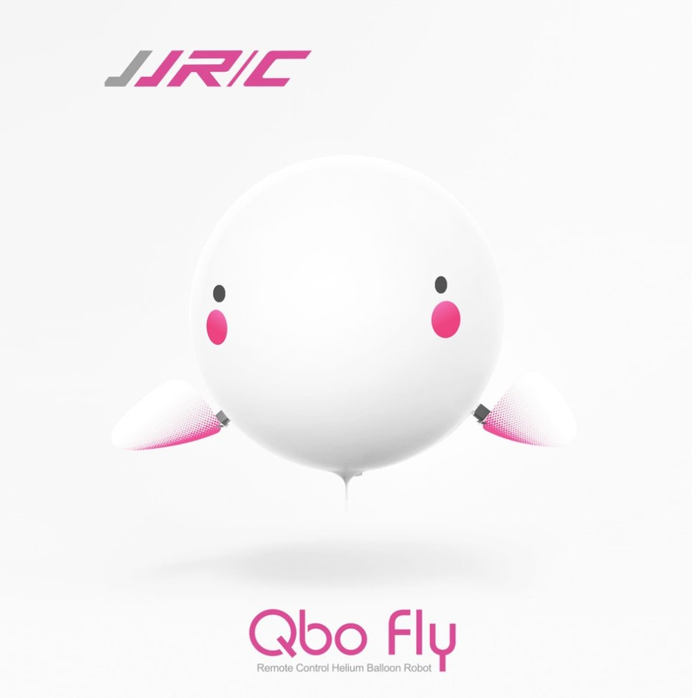 JJR/C H80 Qbo Fly 2.4G RC Safe Remote Control Inflatable Bubble Helium Balloon Baymax Dance Robot Toys for Children Kids Gift 1pcs remote control flying air shark toy clown fish balloons rc helicopter robot gift for kids inflatable with helium fish plane