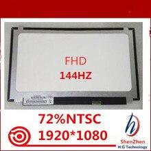 """חדש עבור BOE NV156FHM N4B 144HZ 72% NTSC FHD 1920X1080 מט LED מטריקס עבור מחשב נייד 15.6 """"פנל צג LCD החלפת מסך"""