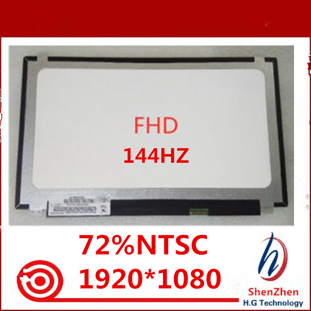 New For BOE NV156FHM-N4B 144HZ 72% NTSC FHD 1920X1080 Matte LED Matrix For Laptop 15.6