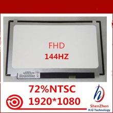 """Yeni BOE NV156FHM N4B 144HZ 72% NTSC FHD 1920X1080 mat LED matris dizüstü 15.6 """"Panel monitör LCD ekran değiştirme"""