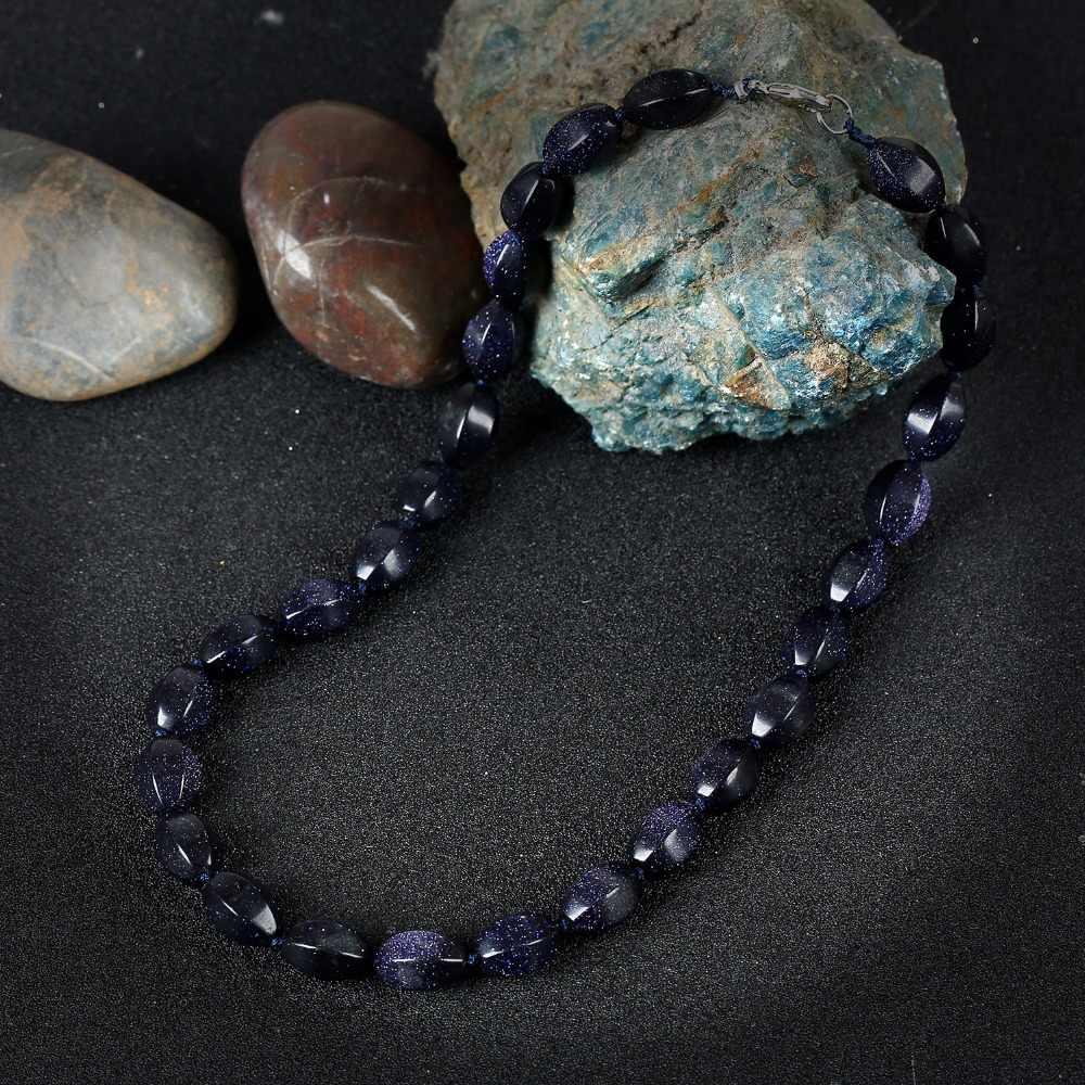 Женское Ожерелье Из Зелёной Яшмы Качественные Натуральные Камни Ювелирные Изделия Модные Украшения Бусы На Шею