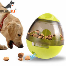 Pet Toys Dog Feeding Tumbler Interactive Puzzle Toy Cat Training Supplies Chihuahua Yorkshire Mini Size Dogs Puppy