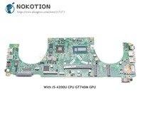 NOKOTION DAJW8CMB8E1 CN 0JPMWP 0JPMWP Laptop Motherboard For Dell Vostro 5470 Main Board SR170 i5 4200U CPU GT740M graphics