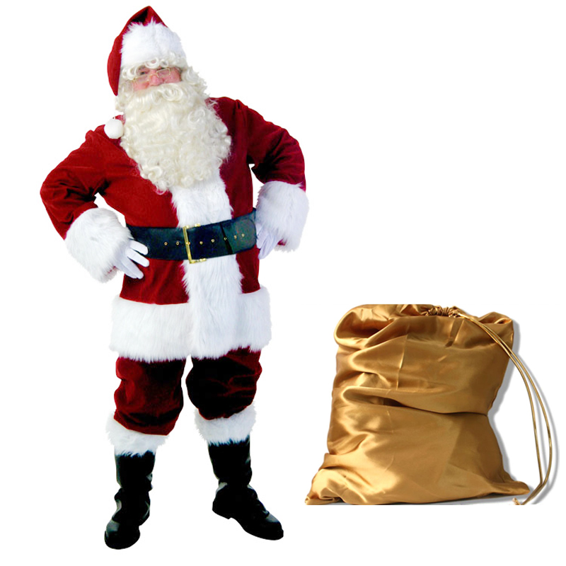 Free shipping wholesale New Christmas costumes santa claus ...