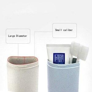 Image 4 - Portable travel แปรงสีฟันกล่องฟันเก็บ