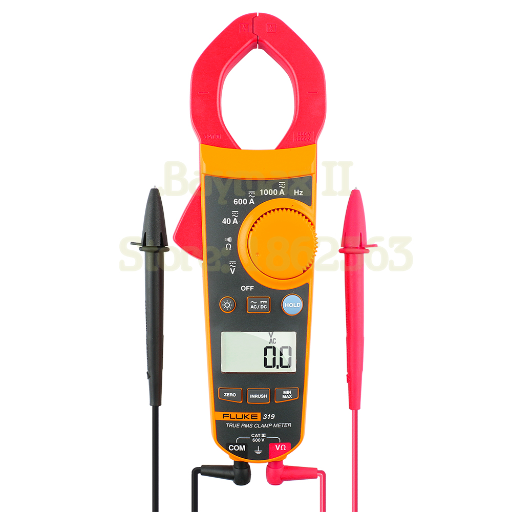HOT SALE] Fluke 362 Detachable Jaw AC/DC Clamp Meter + Soft