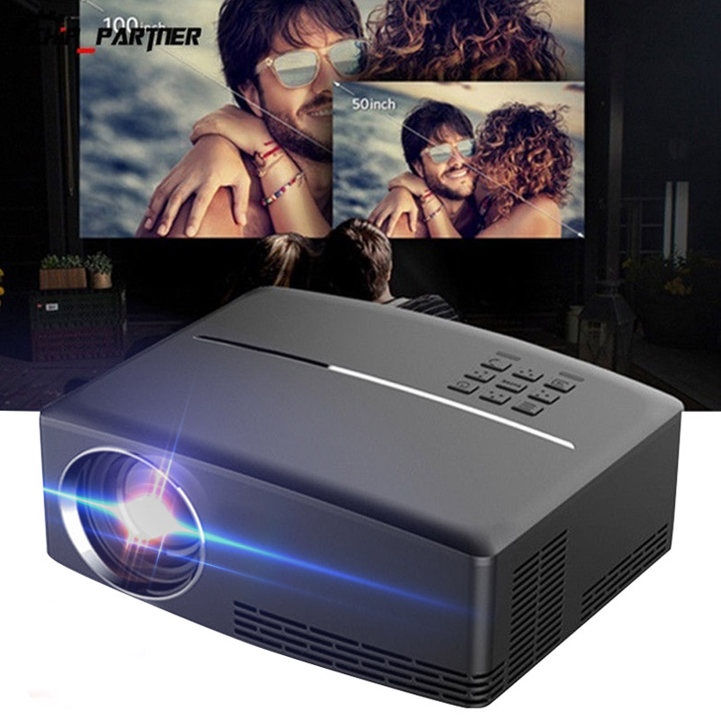 Portable Mini LCD Projector Support 1080P Home Cinema Multimedia Projector Video Projector HDMI/USB/AV/VGA/SD Media PlayerPortable Mini LCD Projector Support 1080P Home Cinema Multimedia Projector Video Projector HDMI/USB/AV/VGA/SD Media Player