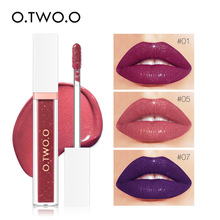 O.TWO.O 7 Colors Liquid Lipstick Waterproof Lips Makeup Cosm