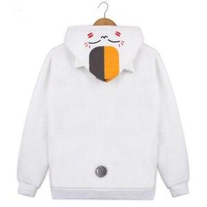Image 3 - Хлопчатобумажная толстовка с капюшоном, куртка, пальто, костюмы для косплея для женщин