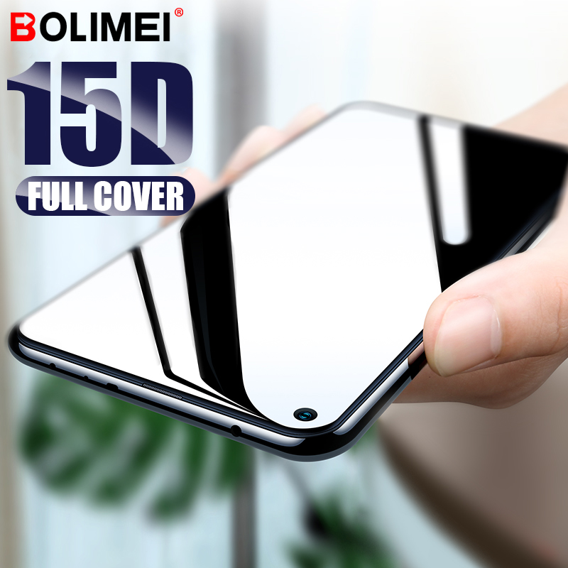 <font><b>15D</b></font> Full Cover Tempered <font><b>Glass</b></font> For <font><b>Huawei</b></font> Honor 10 <font><b>Lite</b></font> 20 Pro 20i Screen Protector For <font><b>Huawei</b></font> <font><b>P20</b></font> <font><b>Lite</b></font> P30 Pro Protective Film image