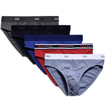 CARFANTE  Mens Underwear Briefs shorts Comfortable Cotton Male cueca 4Piece/Lot M~ XXL