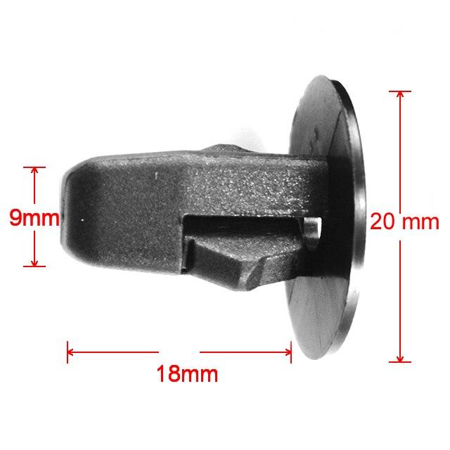500x OEM Screw Grommet Nut Hood Fender Retainer Fastener Clips 90189 06065 for Lexus for Camry