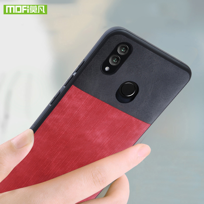 US $8 54 29% OFF For Huawei Honor 8X Max case for Huawei Honor 8X case  cover silicone jeans leather original Mofi for Huawei Honor 8X Max case-in