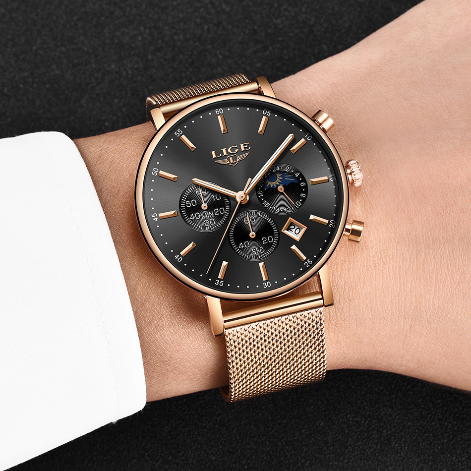 HTB1a29jXIvrK1Rjy0Feq6ATmVXac LIGE Fashion Men Watches Male Top Brand Luxury Quartz Watch Men Casual Slim Dress Waterproof Sport WristWatch Relogio Masculino