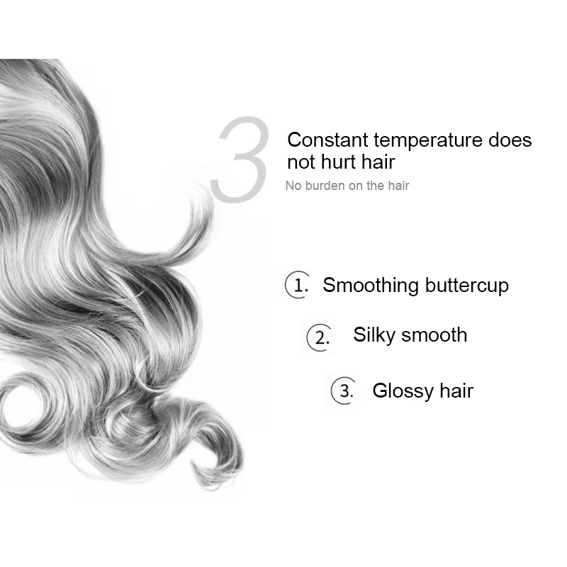 2 in 1 Hair Dryer Brush Hot Air Comb Electric Hair Curler Hair Straightener Brush Negative Ion Hot Hair Styler Comb 5