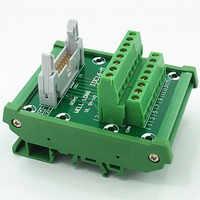 IDC-16 DIN Rail Mounted Interface Module.