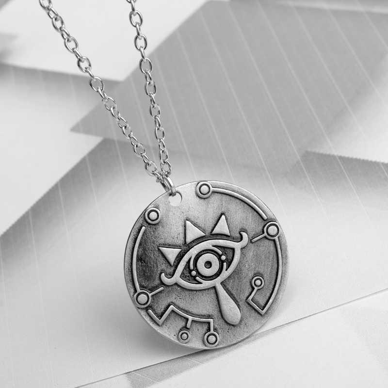 Легенда о Zelda аниме изделия Круглый dog tag Подвески Ожерелья для мужчин Для женщин человек цепи Цепочки и ожерелья