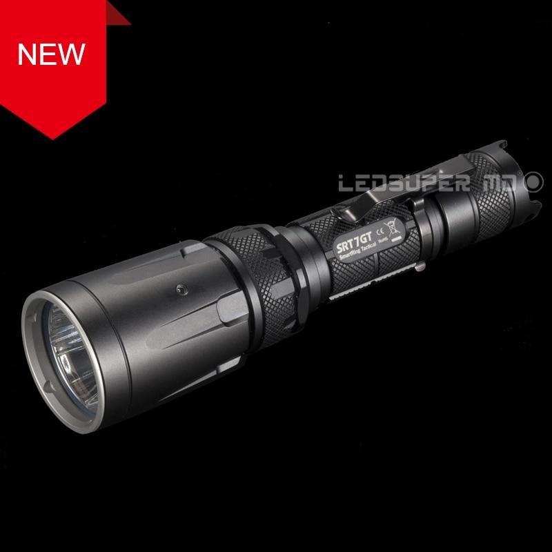 Factory Price NITECORE SRT7GT CREE XP-L HI V3 LED High Output Tactical Flashlight with Multi-colored LEDs цена и фото