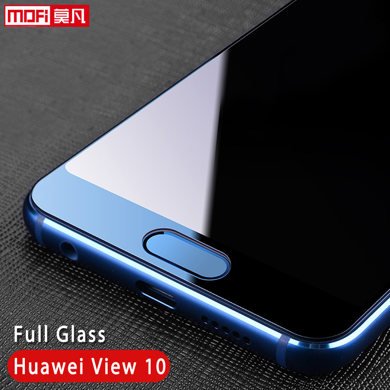 Huawei Honor View 10 Glass Tempered Mofi Ultra Clear Thin 2.5D 9H Full Glass Screen Protector Huawei Honor View 10 V10 Glass image