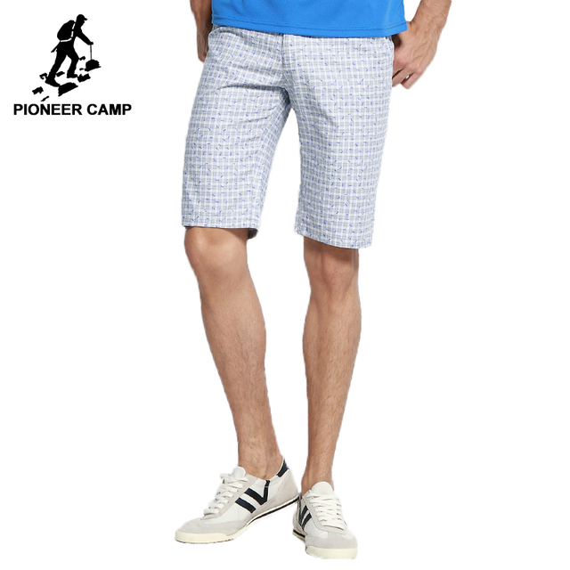 3830d6f780 Campamento de pioneros 2018 Nueva llegada shorts marca ropa casual  masculina pantalones cortos de algodón pantalones