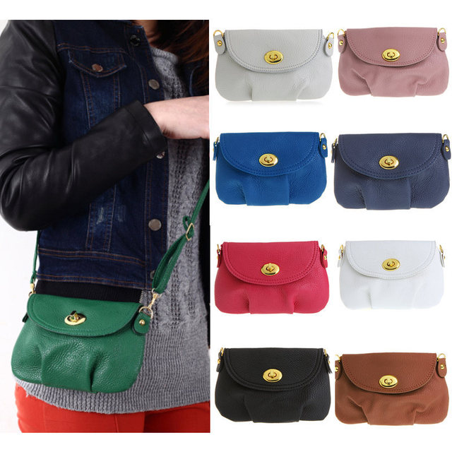 Hot Women S Handbag Satchel Shoulder Leather Messenger Cross Body Bag Small Mini Purse Tote Bags Bolsa