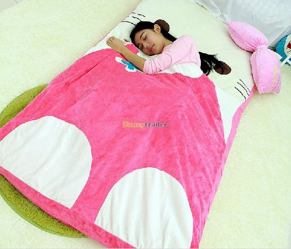 Fancytrader 200cm X 180cm Lovely Plush Stuffed Hello Kitty Mattress Bed Tatami Sofa Carpet, FT50670 (3)