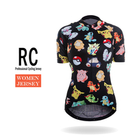 Racmmer 2018 Sıcak Komik Bisiklet Jersey Yaz Kadın Bisiklet Kısa Giyim Ropa Bicicleta Maillot Ciclismo Bisiklet Giyim # WS-16