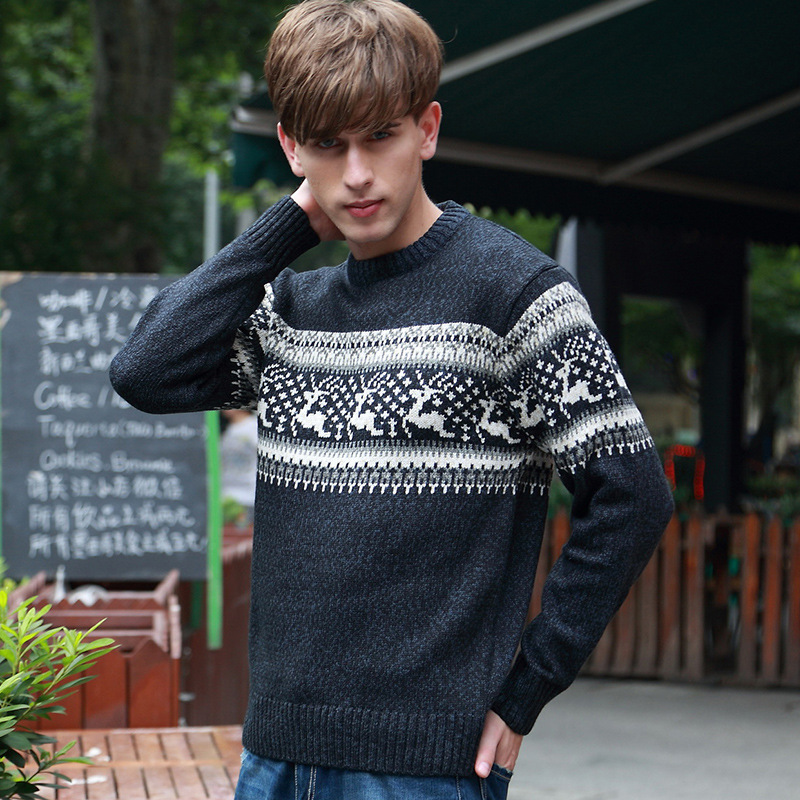 Aliexpress.com : Buy New Mens Ugly Christmas Sweater Multicolor Fashion Wool Cowl Neck For Men Sweaters Pull Homme 5 Colors BF7721 from Reliable